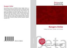 Bookcover of Rangers Strike