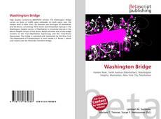 Bookcover of Washington Bridge