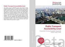 Bookcover of Public Transport Accessibility Level
