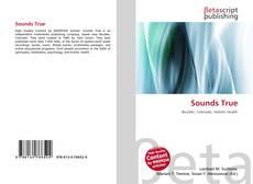 Bookcover of Sounds True