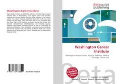 Buchcover von Washington Cancer Institute