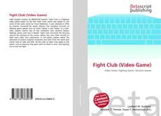 Bookcover of Fight Club (Video Game)