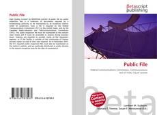 Borítókép a  Public File - hoz