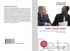 Copertina di Public Goods Game