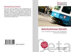 Bookcover of Bahnhofstrasse (Zürich)