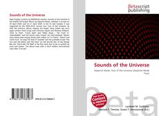 Bookcover of Sounds of the Universe