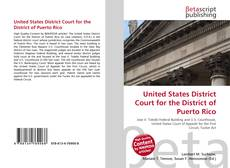 United States District Court for the District of Puerto Rico的封面