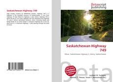 Bookcover of Saskatchewan Highway 749