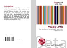 Buchcover von Writing Center