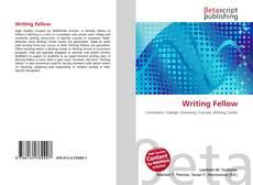 Writing Fellow kitap kapağı