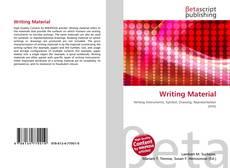Writing Material的封面