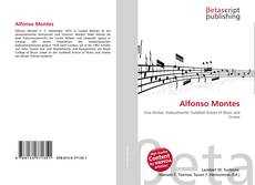 Bookcover of Alfonso Montes