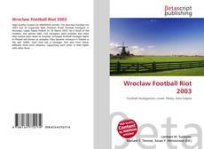 Обложка Wrocław Football Riot 2003