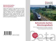Capa do livro de Bahnstrecke Aachen-Mönchengladbach