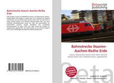 Capa do livro de Bahnstrecke Haaren–Aachen-Rothe Erde