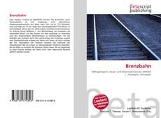 Buchcover von Brenzbahn