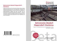 Buchcover von Bahnstrecke Absdorf-Hippersdorf–Stockerau