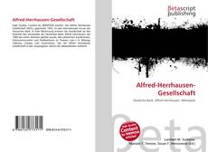 Alfred-Herrhausen-Gesellschaft kitap kapağı