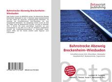 Copertina di Bahnstrecke Abzweig Breckenheim–Wiesbaden