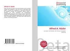 Borítókép a  Alfred A. Häsler - hoz