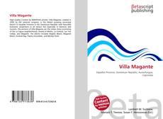 Bookcover of Villa Magante