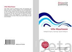 Bookcover of Villa Maarheeze