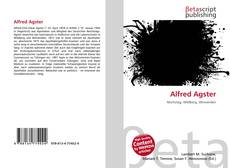 Bookcover of Alfred Agster