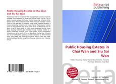 Public Housing Estates in Chai Wan and Siu Sai Wan的封面