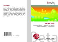 Bookcover of Alfred Barr