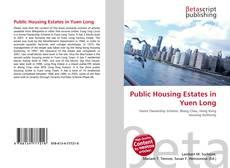 Portada del libro de Public Housing Estates in Yuen Long