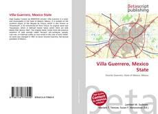 Bookcover of Villa Guerrero, Mexico State
