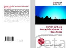 Bookcover of Roman Catholic Territorial Prelature of Deán Funes