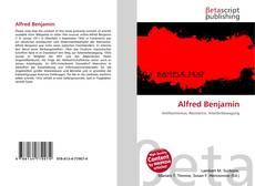 Bookcover of Alfred Benjamin