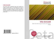 Portada del libro de Villa Grimaldi