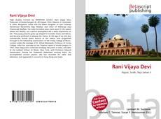 Borítókép a  Rani Vijaya Devi - hoz