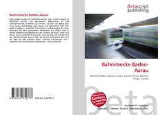Capa do livro de Bahnstrecke Baden-Aarau