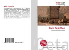 Bookcover of Rani, Rajasthan