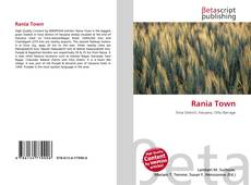 Bookcover of Rania Town