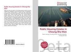 Portada del libro de Public Housing Estates in Cheung Sha Wan