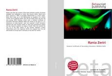 Bookcover of Rania Zeriri