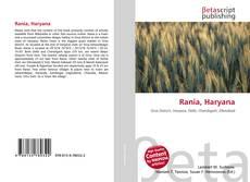 Bookcover of Rania, Haryana