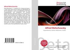 Bookcover of Alfred Bielschowsky