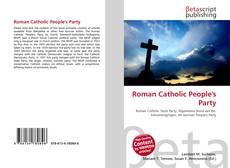 Bookcover of Roman Catholic People's Party