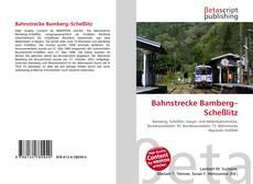 Couverture de Bahnstrecke Bamberg–Scheßlitz