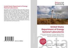 Portada del libro de United States Department of Energy National Laboratories