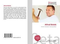 Capa do livro de Alfred Biolek