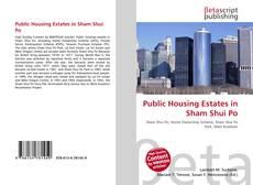 Bookcover of Public Housing Estates in Sham Shui Po