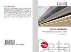 Hochrheinbahn的封面