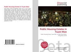 Public Housing Estates in Tsuen Wan的封面