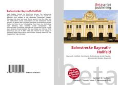 Bookcover of Bahnstrecke Bayreuth-Hollfeld